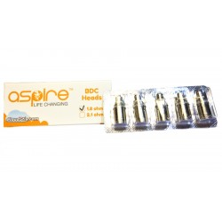 5 Pack of Standard Aspire BVC atomizers