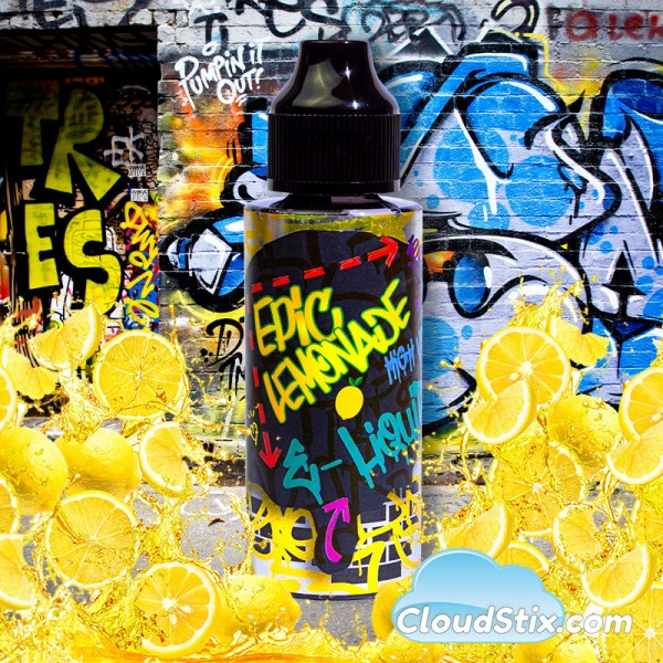 Epic Lemonade 120ml E Liquid
