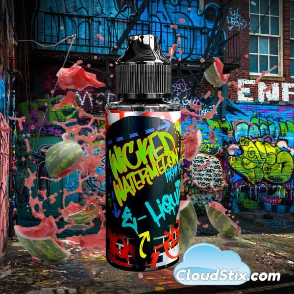 Wicked Watermelon 120ml E Liquid