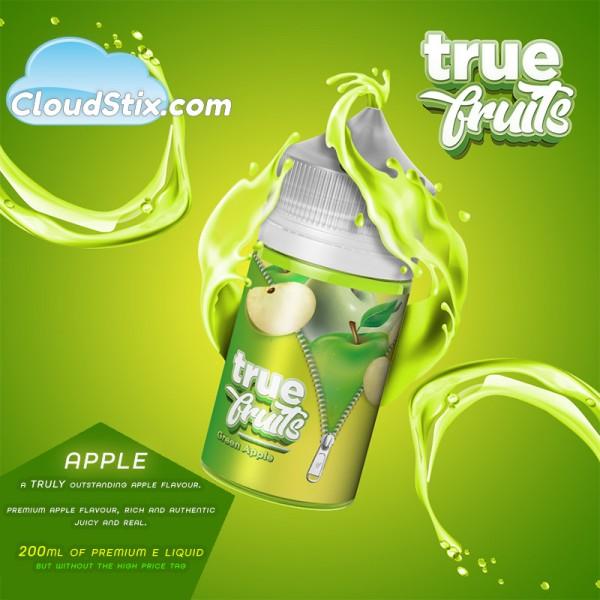 True Fruits Apple E Liquid