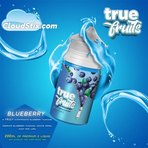 True Fruits Blueberry E Liquid