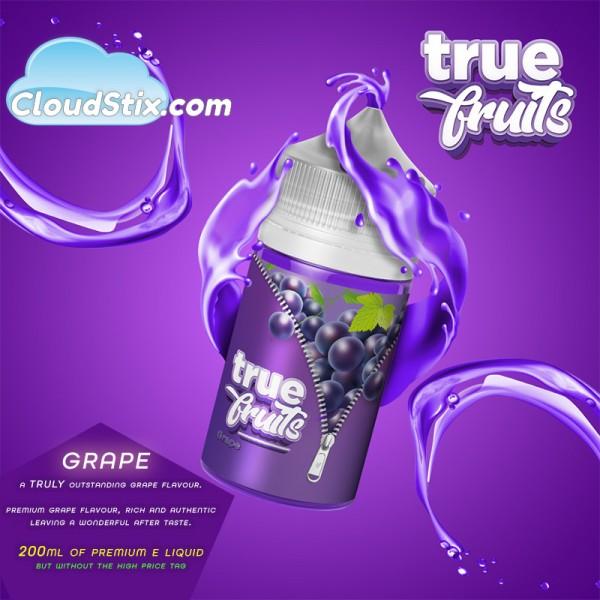 True Fruits Grape E Liquid