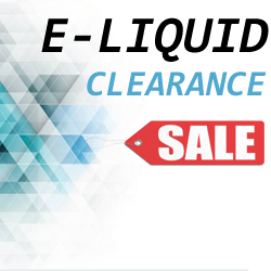 Clearance E Liquid Sale
