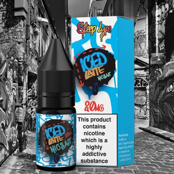 Steep Iced Latte NS E Liquid