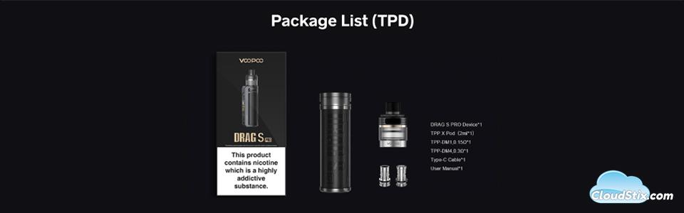 Drag S Pro Kit CS UK