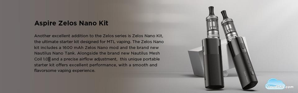 Aspire Zelos Nano Kit UK