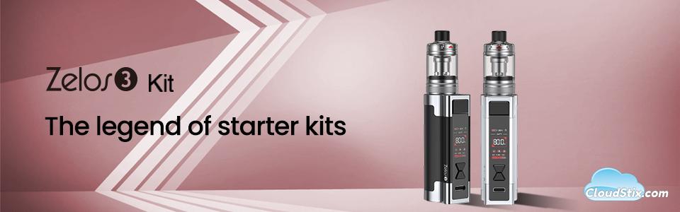 Aspire Zelos 3 kits CS